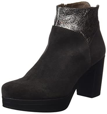 WEEKEND BY PEDRO MIRALLES Pedro Miralles Weekend Damen 27631 Kurzschaft Stiefel, Grau (Piombo), 39 EU