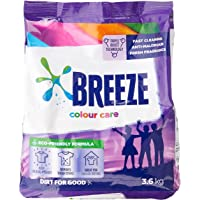 Breeze Powder Detergent, Colour Care, 3.6kg (Packaging may vary)