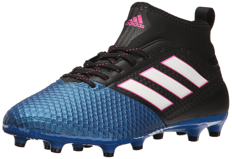 adidas Men's Ace 17.3 Primemesh Firm Ground Cleats Soccer Shoe B01H0ROB0K 9 D(M) US|Black/White/Satellite
