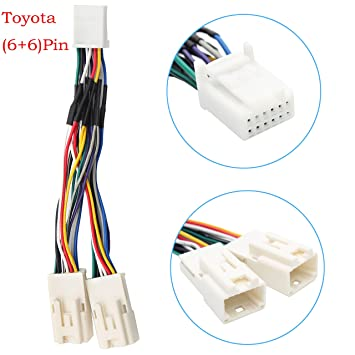 81TTAy1975L._SY355_ amazon com auxillary adapter,yomikoo y cable radio wiring harness