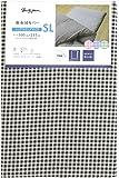 メリーナイト 敷布団カバー 「ギンガム」 シングルロング ブラウン PC13101-93