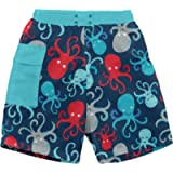 i play. Baby Boys' Pocket Trunks with Built-In Reusable Absorbent Swim Diaper