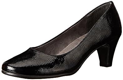 Aerosoles A2 Womens Redwood Black Patent
