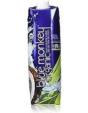 Blue Monkey 100-Percent No Pulp-Organic Coconut Water (NFC)