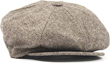 New York Hat co Wool Tweed Fleck Newsboy Hat 682e68ce0421