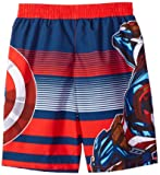 Marvel Little Captain America 2-Piece Swim