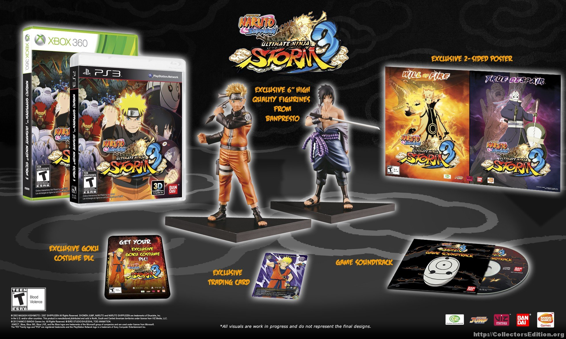 Amazon.com: Naruto Ultimate Ninja Storm 3 Collectors ...