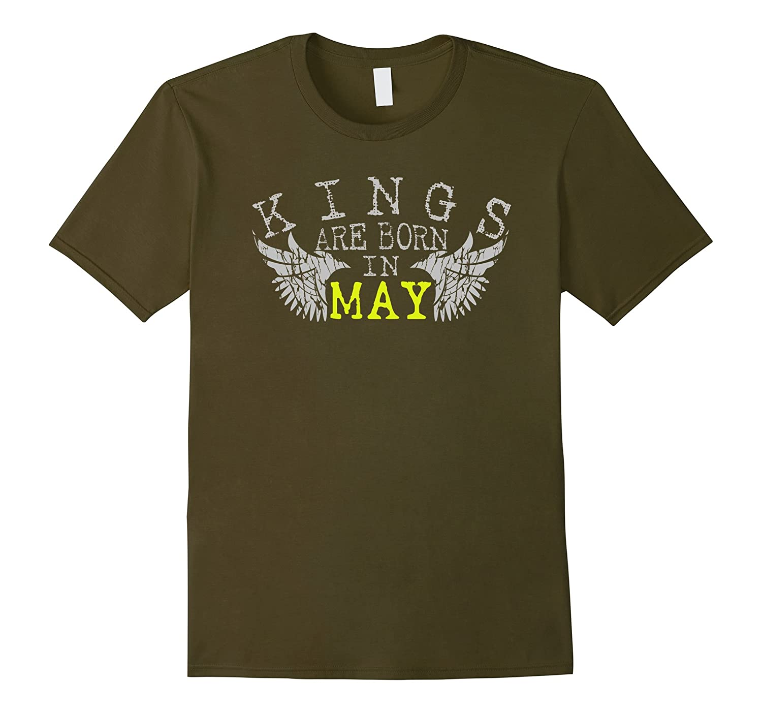 KINGS Are Born In May t-shirt Vintage Gift t-shirt-Vaci