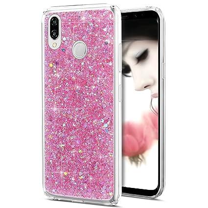 Amazon.com: Huawei P20 Lite Case,Huawei P20 Lite Glitter ...