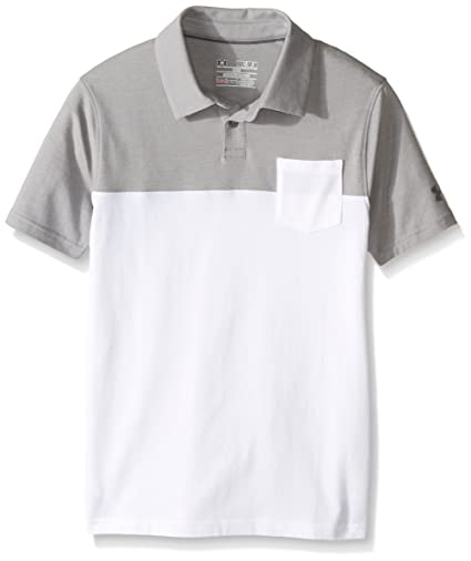 8f2041b69 Buy Under Armour Boys  Charged Cotton Blocked Polo Online at Low ...