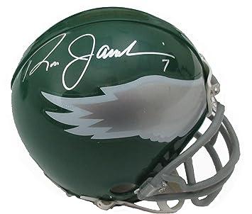 Amazon.com  Signed Ron Jaworski Mini Helmet - Autographed NFL Mini Helmets   Sports Collectibles 147ed0450