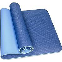 Skyland Unisex Adult TPE Yoga Mat Em-9304-b - Blue, L 61 X W 13 X 13 cm