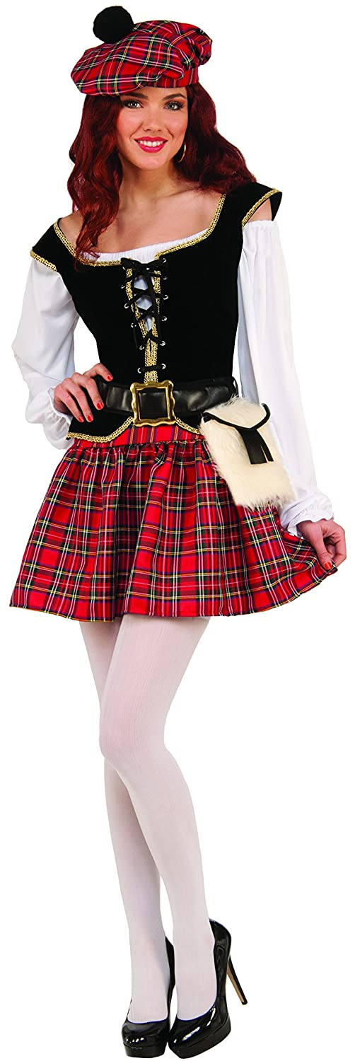 Forum Women's Saucy Scotty Girl Costume