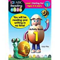ABC Reading Eggs Level 1 Starting Out Activity Book 1 Ages 4-6