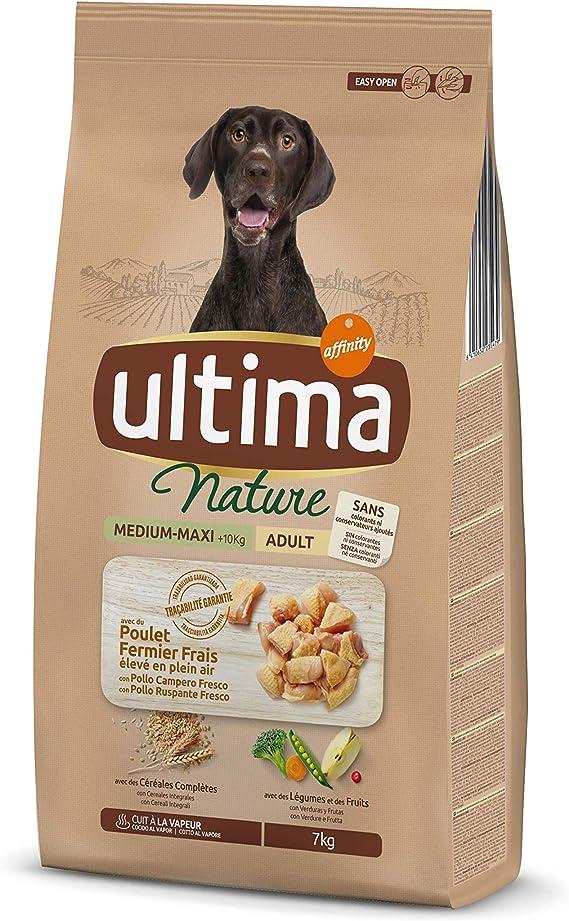 Ultima Nature Pienso para Perros Medium-Maxi con Pollo - 7 kg