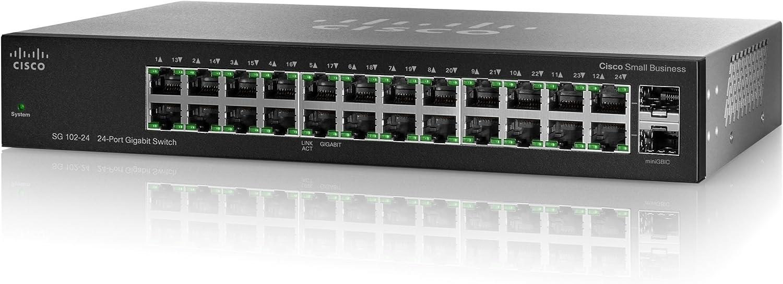 Cisco SR2024C Compact 24-port 10//100//1000 Gigabit Switch