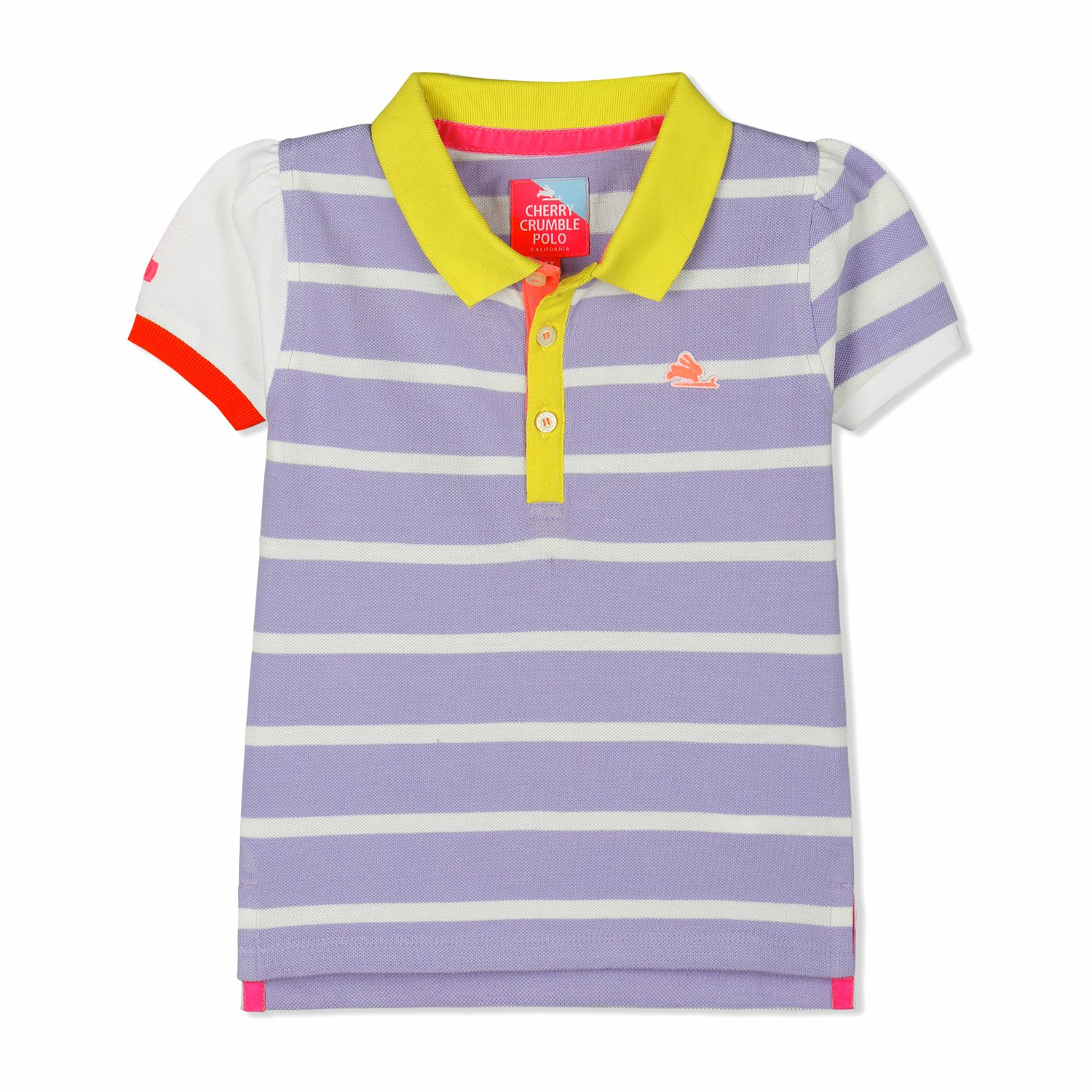 35a4bfb4 Cherry Crumble California Baby Girl Casual Polo T-Shirt: Amazon.in:  Clothing & Accessories