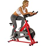 Sunny Health & Fitness Unisex Adult SF-B1001 Indoor Cycling Bike - Red, One Size