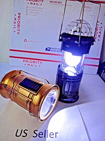 Amazon.com: 1W +6LED +3 color LED Magic Cool Camping lights for ...