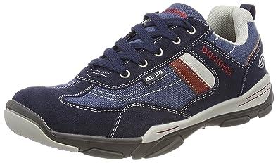 Sneaker Zu Details Navy By Gerli 36ht001 Dockers Herren