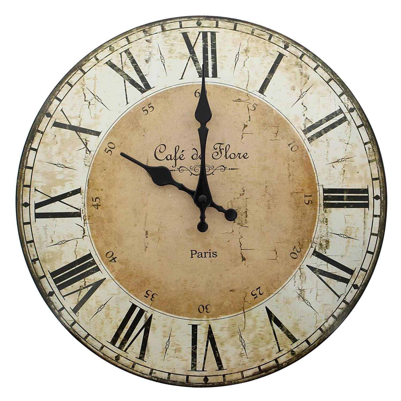 Große Wohnzimmer Wanduhr Xxl Metall Ø 50cm Riesen Uhr Für Die Wand ... Grose Wohnzimmer Uhren