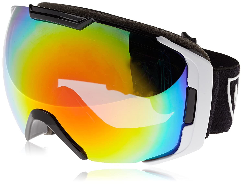 9086f0ff7516 Tsg 19650 - Skiing Goggles unisex Red Viking Red Chrome - Yellow Chrome  Bonus Lens Size One Size  Amazon.co.uk  Sports   Outdoors