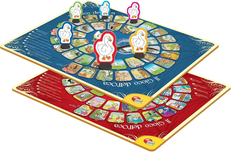 Lisciani Giochi 60535 – Ludoteca Gioco del Ganso , color/modelo surtido: Amazon.es: Juguetes y juegos
