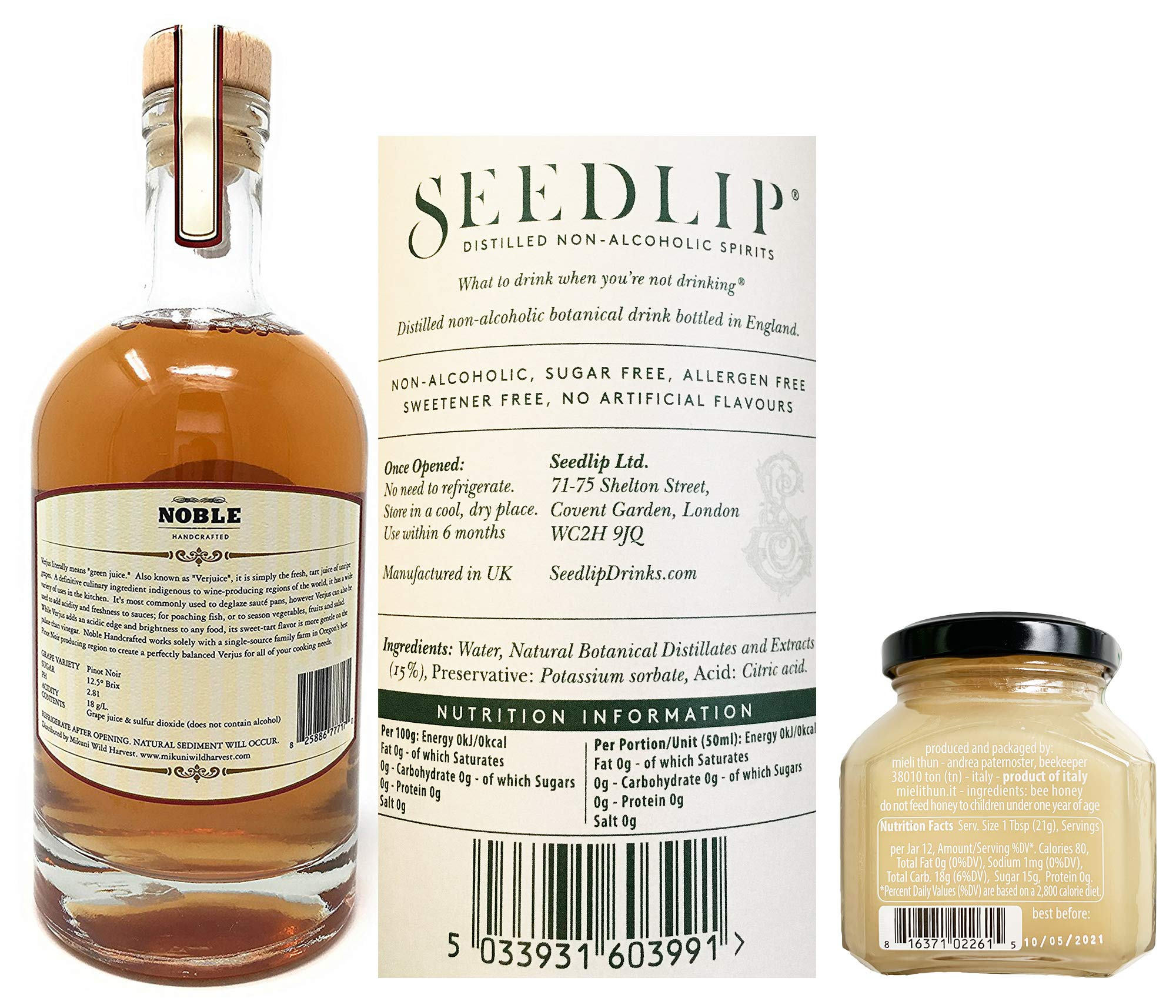 Seedlip Grove 1542 Vintage Bundle (5 Items) by The Curated Pantry (Image #6)