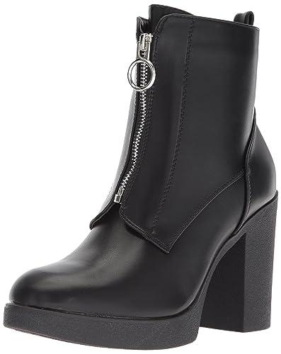 17cc7739012 Aldo Women's Cerasien Ankle Boot, Black Synthetic, 6.5 B US: Buy ...