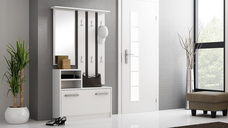 Moderne couloir de couleur Blanc