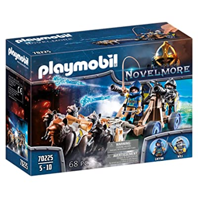 PLAYMOBIL Novelmore Wolf Team with Canon Playset: Toys & Games