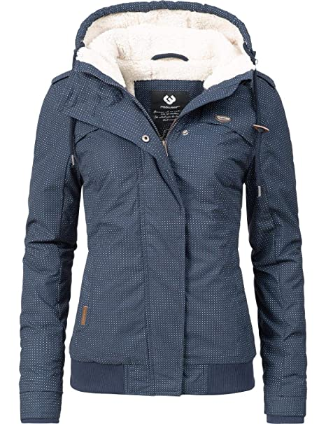 various colors b3c7f 21574 Ragwear Damen Jacke Winterjacke Ewok (vegan hergestellt) 7 Farben XS-XL