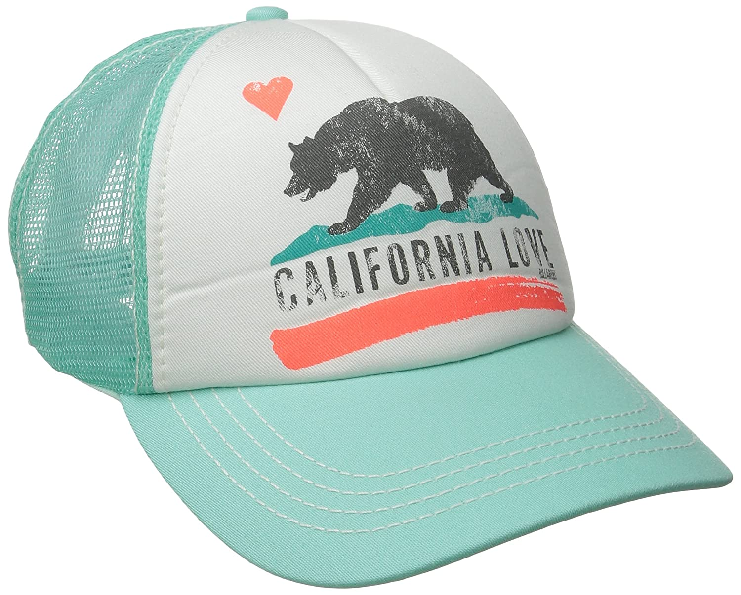 Billabong Pitstop Trucker Hat Charcoal One Size Billabong Juniors JAHT7PIT