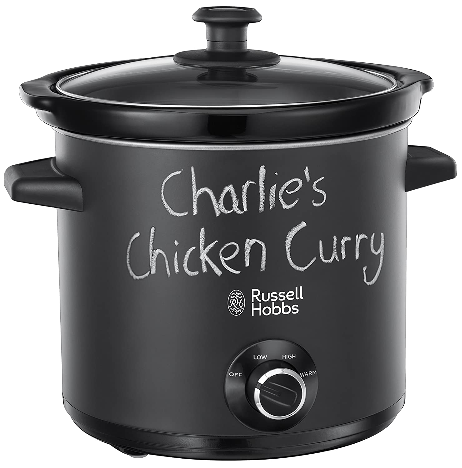 The Russell Hobbs Chalkboard Slow Cooker