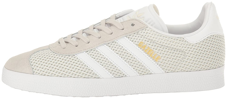 adidas Originals B01LZAEBMD Women's Gazelle Fashion Sneakers B01LZAEBMD Originals 8 M US|Talc/White/Talc 883c0a