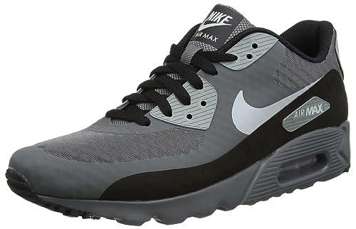 buy popular 779eb d9226 Nike Air Max 90 Ultra Essential, Scarpe da Ginnastica Basse Uomo,  Multicolore (Dark Grey Wolf Grey Cool Grey Black), 39 EU  Amazon.it  Scarpe  e borse
