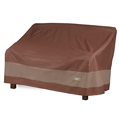 Duck Covers Ultimate Water-Resistant 51 Inch Patio Bench Cover : Garden & Outdoor
