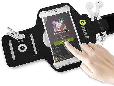 Muvit MUARM0026 - Brazalete Fino Universal para Smartphone (4-4.7 ...