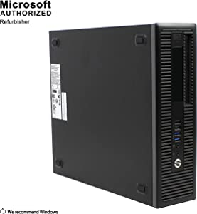 HP ProDesk 600 G1 Small Form Factor PC, Intel Quad Core i7-4770 up to 3.9GHz, 16G DDR3, 512G SSD + 1T, WiFi, Bluetooth 4.0, DVD, Windows 10 64-Multi-Language Support English/Spanish/French (Renewed)