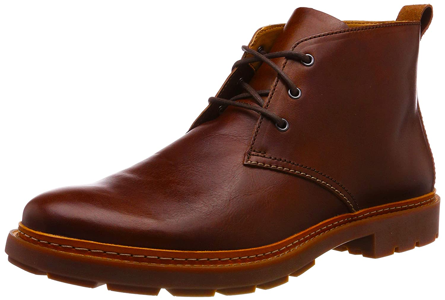 Braun (Mahogany Leather) Clarks Herren Trace Flare Chelsea Stiefel