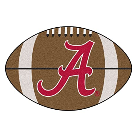 Amazon Com University Of Alabama Football Area Rug Sports Outdoors