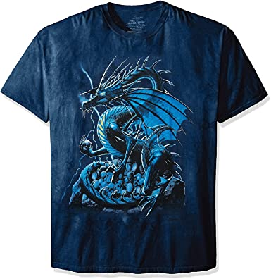 The Mountain Skull Dragon - Camiseta de Manga Corta: Amazon.es: Ropa y accesorios