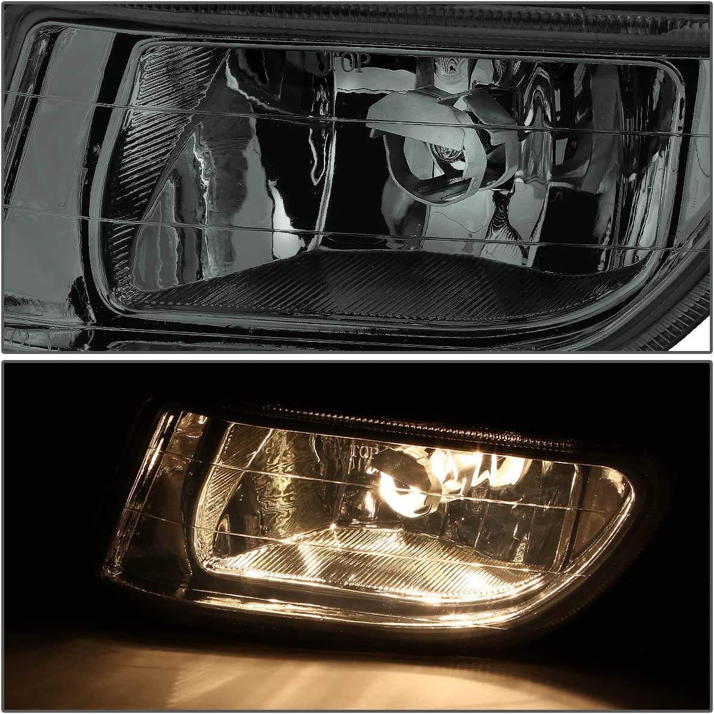 Driver and Passenger Side DNA MOTORING FL-ZTL-211-CH Fog Light