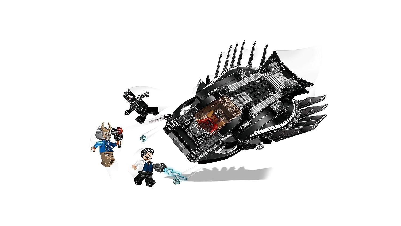 100/% LEGO Erik Killmonger From 76100 Black Panther Royal Talon Fighter Marvel