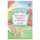 Heinz Muesli Strawberry/Raspberry and Blueberry, 200 g