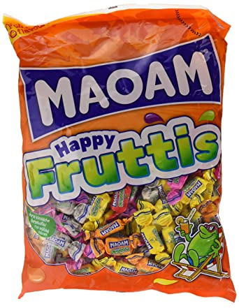 Haribo Maoam-Maovit 08343 - Caramelo de frutas, 1000 gr
