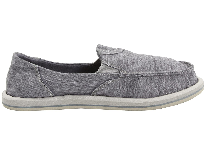 Sanuk Women's Pick Pocket Fleece Flat B06XVVSGWY 11 B(M) US|Light Grey 2