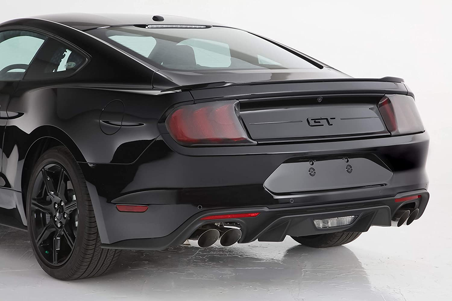 Blackout Taillight Covers GT Styling GT4698X Blackout Taillight Covers Carbon Fiber 2 pc