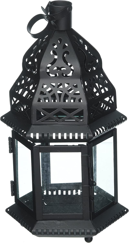 Koehler Home Decor Outdoor Garden Accent Moroccan Metal Birdcage Lantern