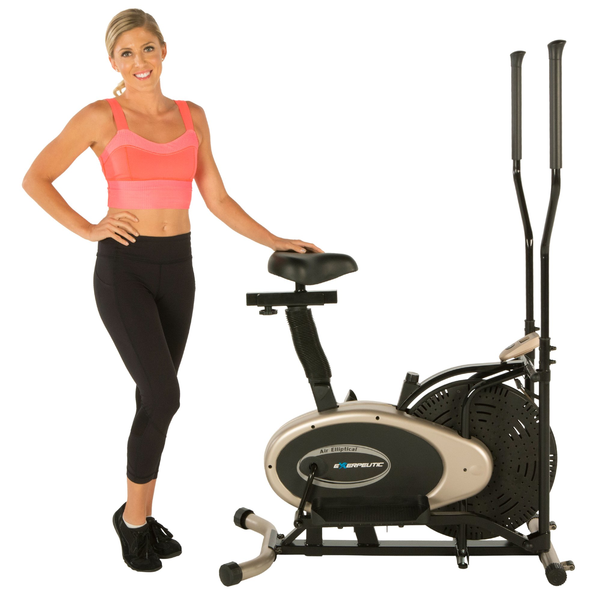 Exerpeutic Gold Elliptical and Exercise Bike Dual Trainer by Exerpeutic (Image #14)